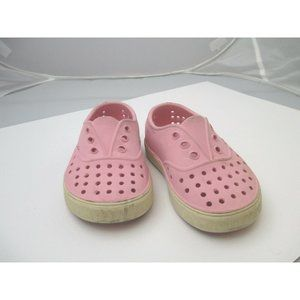 Native pink slip on shoes sandals play shoes sz 7